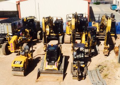 Our advanced fleet of plant and machinery for excavation and earthmoving projects in South Australia