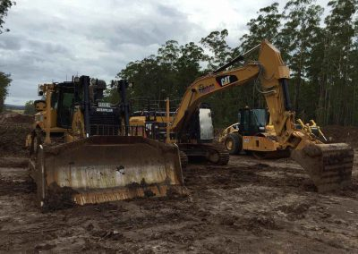 Gunia Plant Hire use advanced Caterpillar excavators for large scale excavation and earth moving jobs in SA